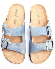 Sandals - Brenda Footbed 2Buckle Sandal