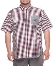Big & Tall - Gingham S/S Button-Down (B&T)