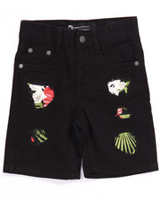 Boys - RIP & REPAIR TROPICAL SHORTS (2T-4T)