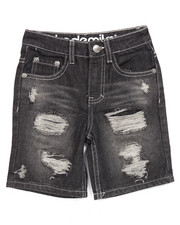 Boys - RIP & REPAIR DENIM SHORTS (4-7)