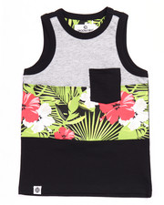 Tanks - CUT & SEW TROPICAL TANK (4-7)