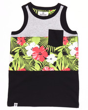 Boys - CUT & SEW TROPICAL TANK (8-20)