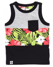Boys - CUT & SEW TROPICAL TANK (2T-4T)