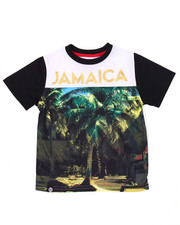 Boys - JAMAICA SUBLIMATION TEE (4-7)