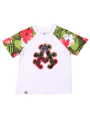 Boys - TROPICAL RAGLAN TEE (2T-4T)
