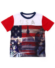 Boys - USA SUBLIMATION TEE (4-7)