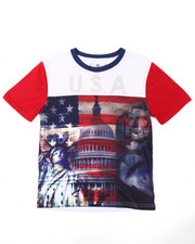 Akademiks - USA SUBLIMATION TEE (8-20)