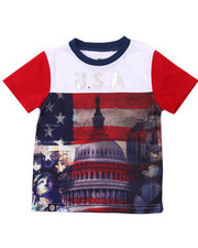 Akademiks - USA SUBLIMATION TEE (2T-4T)