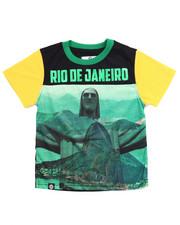 Tops - RIO DE JANEIRO SUBLIMATION TEE (4-7)