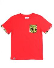 Akademiks - TROPICAL POCKET TEE (8-20)