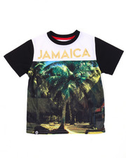Short-Sleeve - JAMAICA SUBLIMATION TEE (2T-4T)