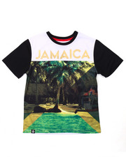 Tops - JAMAICA SUBLIMATION TEE (8-20)