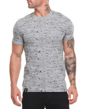 Buyers Picks - Textured Print Tee - Grey