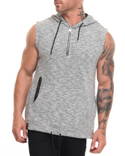 Buyers Picks - Melange Sleeveless Hoodie