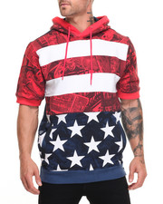 T-Shirts - Flag S/S Hoodie