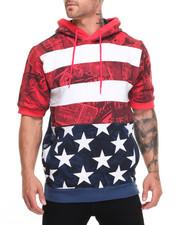 Heritage America - Flag S/S Hoodie