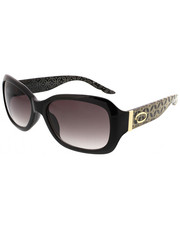Accessories - Rectangular Geo Floral Laser Temple Sunglasses