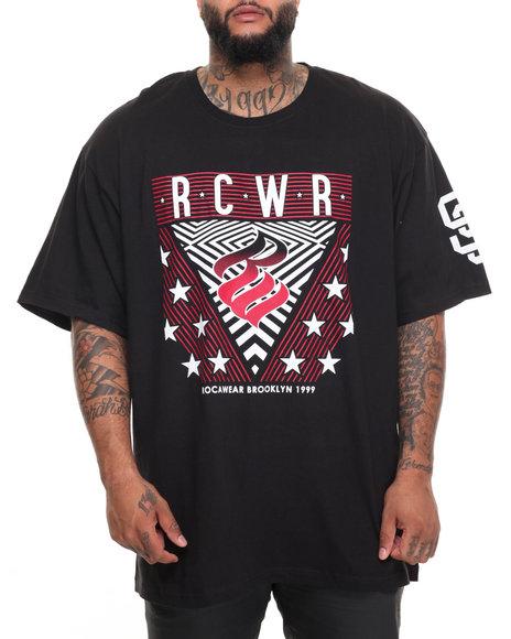 Rocawear Men Roc All Star S/S Tee (B&T) Black 5XLB