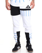 Men - Color Block Strip Jogger