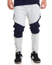 Sweatpants - Knee Print Jogger