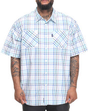 Rocawear - Pattern 09 S/S Button-down (B&T)