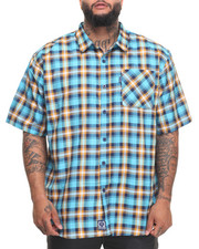 Rocawear - Pattern 10 S/S Button-down (B&T)