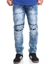Jeans & Pants - B P Paneled Washed Denim Jeans