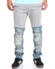Pants - B P Hybrid Fleece / Denim Pants