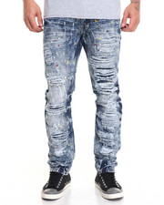 Men - Rip Repair Paint Splatter Jean