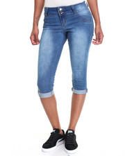 Capris - 5 Pocket Stretch Denim Capri