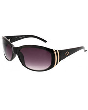 Accessories - Glam Rounded Shield Vented Logo Sunglasses
