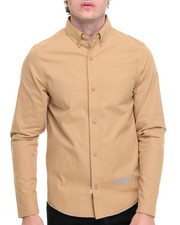 The Hundreds - Kirk Tech Water Resistant L/S Button-down