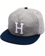 HUF - Wool Classic H Strapback Cap