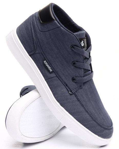 Rocawear Men Fire Sneakers Blue 10