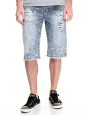 Buyers Picks - MASON ACID BLEACHED DENIM SHORTS
