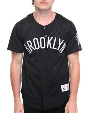 Jerseys - Brooklyn Nets NBA Mesh Button Front Jersey