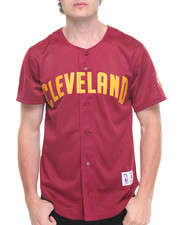 Mitchell & Ness - Cleveland Cavaliers NBA Mesh Button Front Jersey