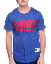 Jerseys - New York Giants NFL Mesh Button Front Jersey