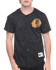 Jerseys - Chicago Blackhawks NHL Mesh Button Front Jersey