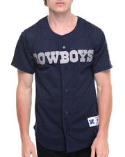 Jerseys - Dallas Cowboys NFL Mesh Button Front Jersey