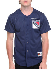 Jerseys - New York Rangers NHL Mesh Button Front Jersey