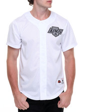 Jerseys - Los Angeles Kings NHL Mesh Button Front Jersey