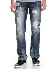 Jeans & Pants - MARKER TINT PATCHWORK DENIM JEANS