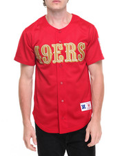 Jerseys - San Francisco 49ers NFL Mesh Button Front Jersey