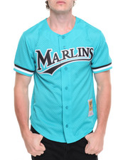 Jerseys - Florida Marlins Andre Dawson Authentic Button-down Batting Practice Jersey