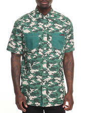 Enyce - Camo S/S Button-Down