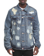 Heritage America - Distressed Denim Jacket