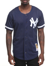 Jerseys - New York Yankees Bernie Williams Authentic Button-down Batting Practice Jersey