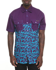 Enyce - Lightening S/S Button-Down