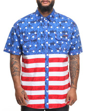 Men - Americana S/S Button-Down (B&T)